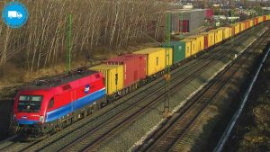 Rail freight transport