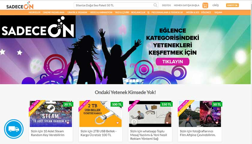 SadeceOn.com Kargo Gönderi Takip