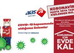 Aras Kargo'dan #EvdeKalTürkiyem