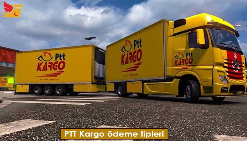 PTT Kargo ödeme tipleri
